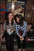 JENNIFER SHERIDAN; EMILY SHERIDAN, Cahoots club launch party, 13 Kingly Court, London, W1B 5PW  26 February 2015