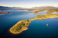 Sailing in Beagle Channel, Argentina
