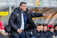 KERKRADE - 20-11-2016, Roda JC - AZ, Park Stad Limburg Stadion, 1-1, Roda JC trainer Yannis Anastasiou.