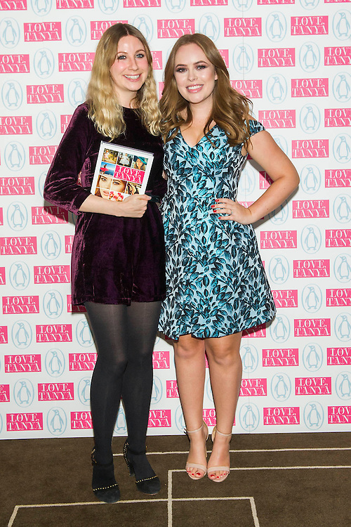 LOVE, TANYA a new book by Tanya Burr (pictured with her editor) and published by Penguin, is launched at Rosewood London. She is is a Beauty, Fashion & Lifestyle Blogger and YouTuber. On her YouTube channel (YouTube.com/TanyaBurr) Tanya delivers makeup tutorials, beauty and style guidance.  The launch will be supported by other vloggers – Zoella, Alfie Deyes, Jim Chapman.