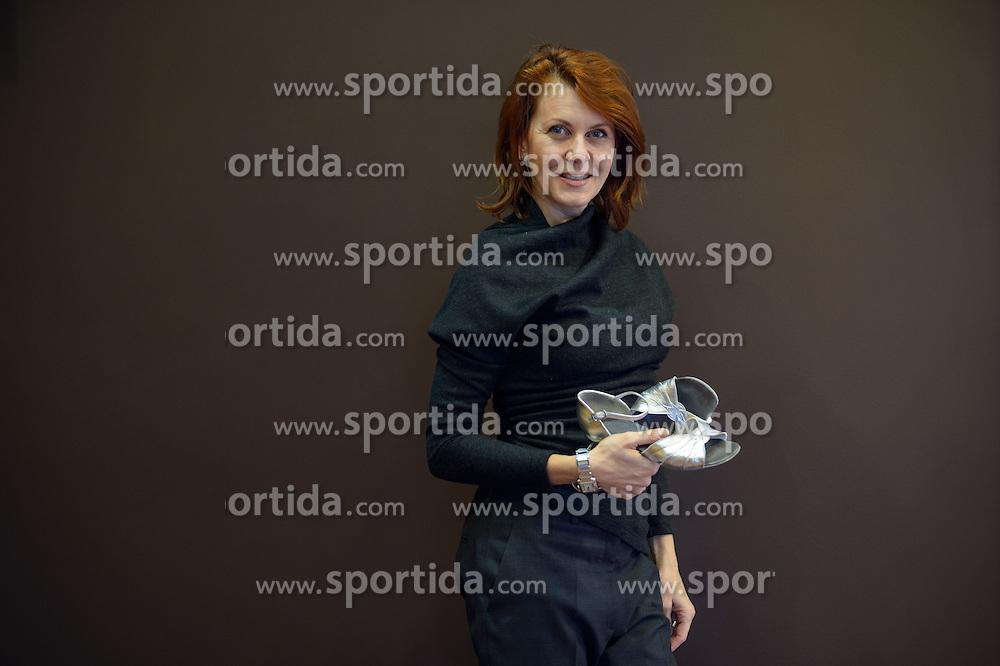 Portrait of Katarina Venturini, on February 11, 2017 at Plesna Zvezda dance studio, BTC in Ljubljana, Slovenia. Photo by Martin Metelko / Sportida