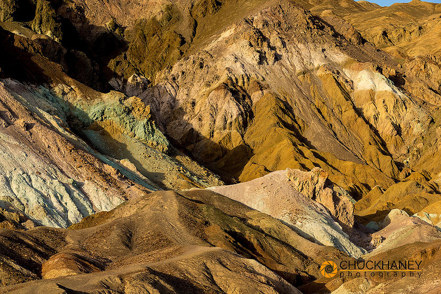 Artists Palette in Death Valley National Park, California, USA