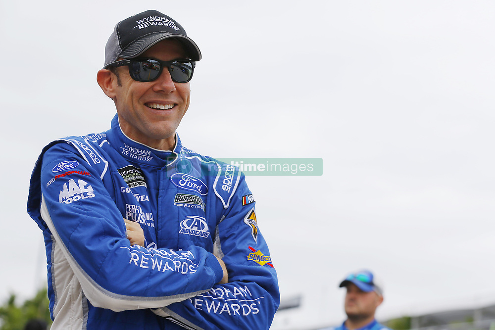 November 16, 2018 - Homestead, Florida, U.S. - Matt Kenseth (6) hangs out in the garage during practice for the Ford 400 at Homestead-Miami Speedway in Homestead, Florida. (Credit Image: © Chris Owens Asp Inc/ASP)