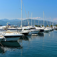 Emerging Yacht Marina in Tivat, Montenegro<br /> In shape contrast to the small, historic and charming towns encircling the Bay of Kotor, a new development in Tivat is appealing to the social elite and their superyachts.  In 2006, Canadian businessman Peter Munk purchased an abandoned 19th century naval shipyard and began creating Porto Montenegro.  When it is finished, the marina will have 650 berths. 150 of them will accommodate personal ships up to 500 feet.