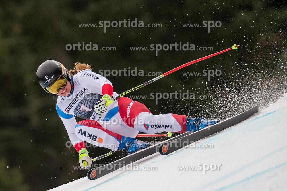 07.02.2016, Kandahar, Garmisch Partenkirchen, GER, FIS Weltcup Ski Alpin, Super G, Damen, im Bild Fabienne Suter (SUI) // Fabienne Suter of Switzerland competes during the ladies SuperG of Garmisch FIS Ski Alpine World Cup at the Kandahar course in Garmisch Partenkirchen, Germany on 2016/02/07. EXPA Pictures © 2016, PhotoCredit: EXPA/ Johann Groder