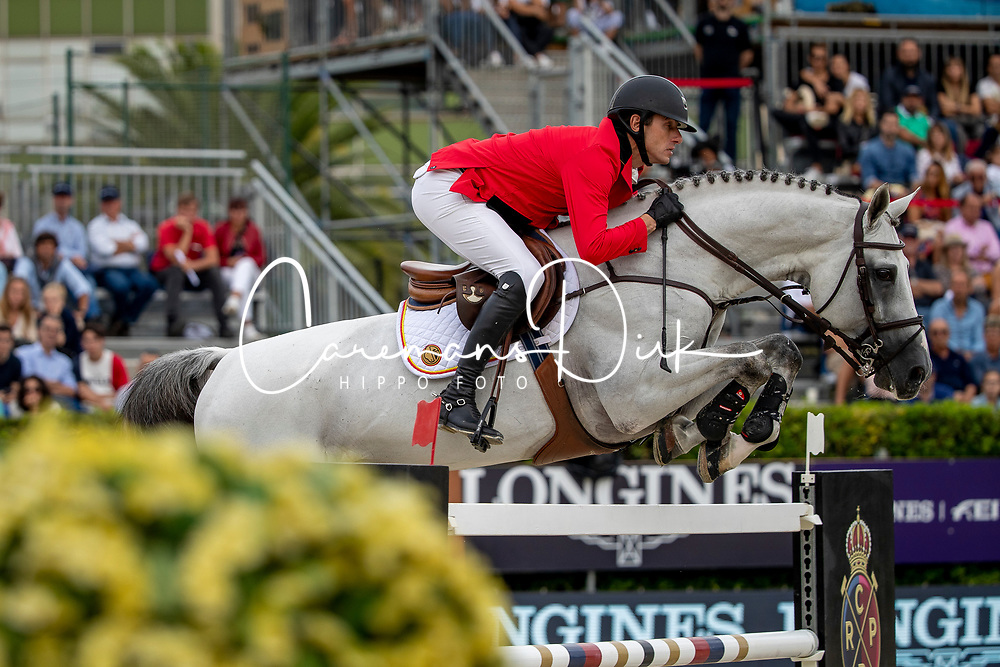 Wathelet Gregory, BEL, MJT Nevado S<br /> Longines FEI Jumping Nations Cup Final<br /> Challenge Cup - Barcelona 2019<br /> © Dirk Caremans<br />  06/10/2019