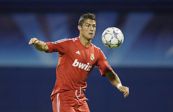 14.09.2011, Stadion Maksimir, Zagreb, CRO, UEFA CL, Dinamo Zagreb vs Real Madrid, im Bild Cristiano Ronaldo. EXPA Pictures © 2011, PhotoCredit: EXPA/ nph/ Pixsell +++++ ATTENTION - OUT OF GERMANY/(GER), CROATIA/(CRO), BELGIAN/(BEL) +++++