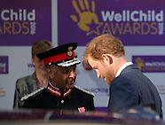 London - WellChild Awards - 03 Oct 2016