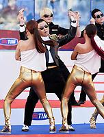 PSY .Roma 26/05/2013 Stadio Olimpico.Roma Lazio.Football Calcio 2012/2013 .Calcio Finale Coppa Italia / Italy Cup Final.Foto Andrea Staccioli Insidefoto