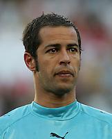 Fussball WM 2006  Gruppenspiel  Vorrunde  Nationalmannschaft Angola Joao Ricardo (ANG)