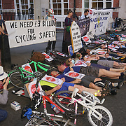 Tory Party HQ Pollution & Cycle Safety Vigil & Die-In