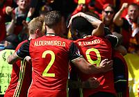 Belgium celebrating<br /> Bordeaux 18-06-2016 Nouveau Stade Footballl Euro2016 Belgium - Republic of Ireland  / Belgio - Irlanda Group Stage Group E. Foto Matteo Ciambelli / Insidefoto