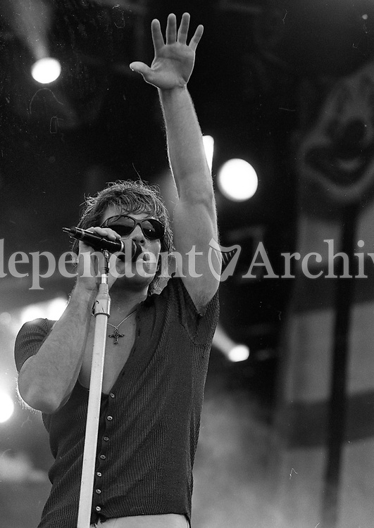 Bon Jovi concert in the RDS 1996...Bon Jovi Concert in the RDS, Dublin 13/07/1996 (Part of the Independent Newspapers Ireland/NLI Collection).