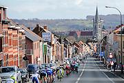 BELGIUM  / BELGIE / BELGIQUE / HARELBEKE / CYCLING / WIELRENNEN / CYCLISME / KLASSIEKER / 59TH RECORD BANK E3 HARELBEKE / UCI WORLD TOUR / UCI WORLDTOUR /  HARELBEKE TO HARELBEKE 206 KM / RONSE / AFDALING KRUISBERG / PELETON /