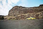 Twin Falls Taxi in canyon. Twin Falls, ID.