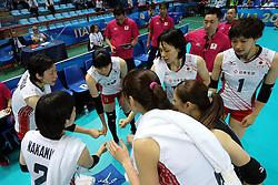 Japan team timeout