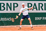 Roberto Bautista Agut (esp) during the Roland Garros French Tennis Open 2018, day 2, on May 28, 2018, at the Roland Garros Stadium in Paris, France - Photo Pierre Charlier / ProSportsImages / DPPI