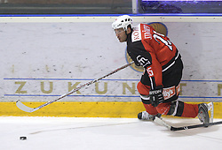 Conny Stromberg of Jesenice at 2nd final match of Slovenian National Championships  between HK Acroni Jesenice and HDD Tilia Olimpija, on March 17, 2009, in Podmezaklja, Jesenice, Slovenia. Acroni Jesenice won after free shots 2:1 and are leading 2:0. They need to win 2-times more. (Photo by Vid Ponikvar / Sportida)