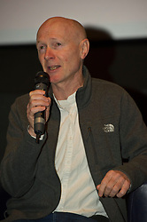 Pictured :  Paul Laverty<br /> <br /> The Ken Loach film 'I, Daniel Blake' was given a special screening in Edinburgh today in front of  anti-austerity campaigners. The event was arranged by William Black who was joined by the screenwriter, Paul Laverty, Minister for Social Security in Scotland Jeane Freeman, Lewis Akers, member of the Scottish Youth Parliament for Dunfermline, Mikle Valance, ACE and Action Against Poverty, Bill Scott, Inclusion Scotland with Sasha Gallagher afrom Disability History Scotland acting as co-ordinater of the Q&A. <br /> <br /> (c) Ger Harley | Edinburgh Elite media