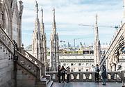 Milan, Duomo rooftop