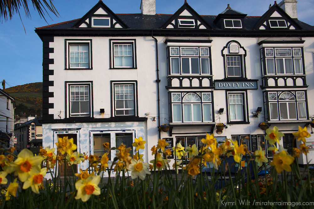 Europe, United Kingdom, Wales, Aberdyfi. The Dovey Inn, Aberdovey, Wales.