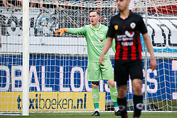 goalkeeper Ogmundur Kristinsson of Excelsior during the Dutch Eredivisie match between sbv Excelsior Rotterdam and Heracles Almelo at Van Donge & De Roo stadium on April 18, 2018 in Rotterdam, The Netherlands