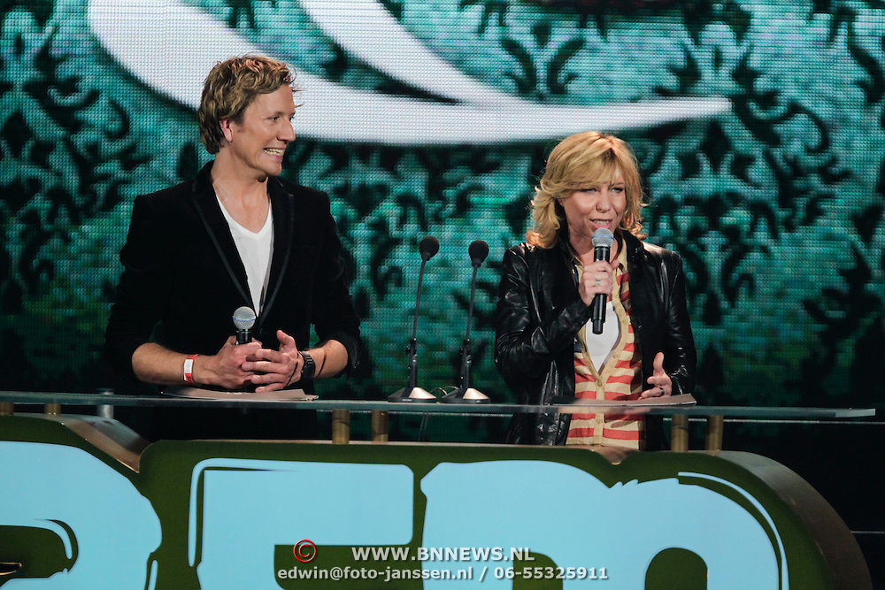 NLD/Amsterdam/20120412 - Uitreiking 3FM Awards 2012, . en Claudia de Breij