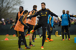 March 23, 2018 - Tubize, BELGIQUE - TUBIZE, BELGIUM - MARCH 23 :  Koen Casteels goalkeeper of Belgium pictured during open training of the Belgian Red Devils on March 23, 2018 in Tubize, Belgium, 23/03/2018 (Credit Image: © Panoramic via ZUMA Press)