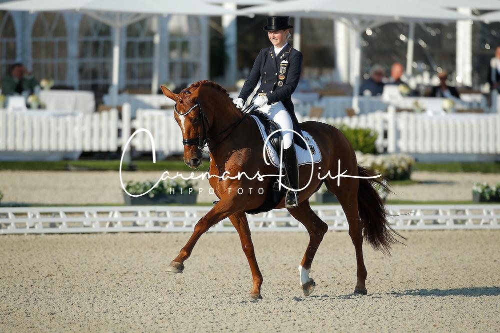 Rothenberger Sanneke, (GER), Wolke Sieben 21<br /> Grand Prix U25<br /> CDIO Hagen 2015<br /> &copy; Hippo Foto - Stefan Lafrentz