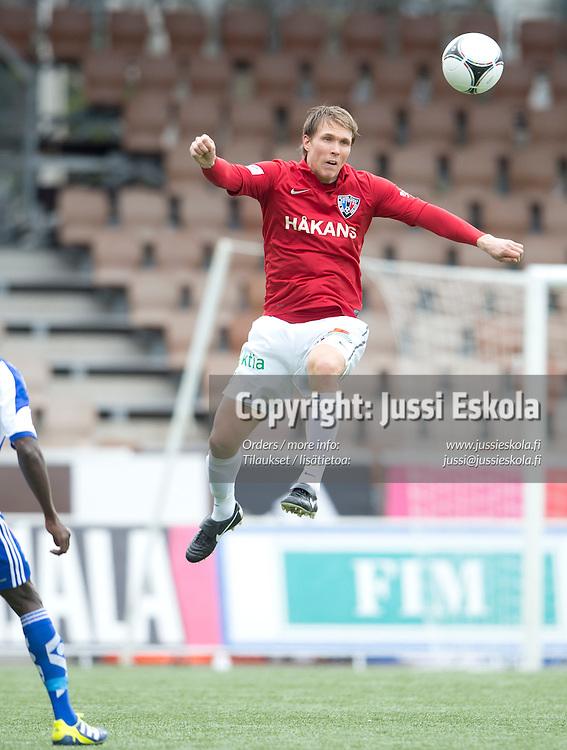 Ari Nyman. HJK - Inter. Veikkausliiga. 6.5.2012. Photo: Jussi Eskola