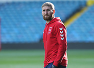 Sam Tomkins during the England Rugby League captain's run ahead of the 3rd Autumn International Series Match at Elland Road, Leeds<br /> Picture by Stephen Gaunt/Focus Images Ltd +447904 833202<br /> 10/11/2018