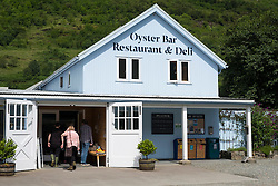 Restaurant and Oyster bar at Loch Fyne in Argyll and Bute , Scotland, united Kingdom