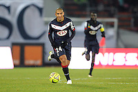 Wahbi KHAZRI - 07.02.2015 - Evian Thonon / Bordeaux - 24eme journee de Ligue 1<br /> Photo : Jean Paul Thomas / Icon Sport