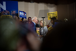 April 29, 2019 - Pittsburgh, PA, United States - Joe Binden and his wife Jill Biden seen during the rally..Joe Biden comes to Pittsburgh to start off his 2020 bid for the president of the United States.  Rally is held at Teamsters in the Lawreceville neighborhood of Pittsburgh, PA. (Credit Image: © Aaron Jackendoff/SOPA Images via ZUMA Wire)