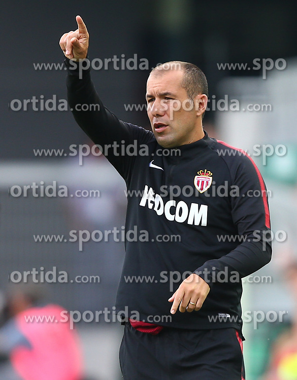 09.07.2017, Allianz Stadion, Wien, AUT, Testspiel, SK Rapid Wien vs AS Monaco, im Bild Leonardo Jardim (AS Monaco) // during friendly Football Bundesliga Match, between SK Rapid Vienna and AS Monaco at the Allianz Arena, Vienna, Austria on 2017/07/09. EXPA Pictures © 2017, PhotoCredit: EXPA/ Thomas Haumer