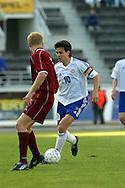 22.05.2002, Olympic Stadium, Helsinki, Finland..Friendly International match, Finland v Latvia..Jari Litmanen - Finland.©Juha Tamminen