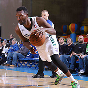 Reno Bighorns Forward Jordan Hamilton (9) drives the lane in the first half of a NBA D-league regular season basketball game between the Delaware 87ers and the Reno Bighorns (Sacramento Kings), Tuesday, Feb. 10, 2015 at The Bob Carpenter Sports Convocation Center in Newark, DEL