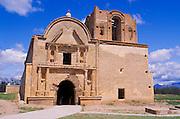 The mission church San Jose de Tumacacori, Tumacacori National Historic Park, Arizona