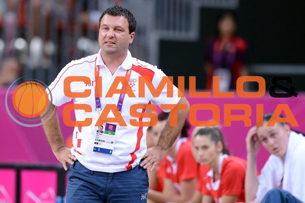 DESCRIZIONE : London Londra Olympic Games Olimpiadi 2012 Women Preliminary Round USA Croatia Usa Croazia<br /> GIOCATORE : Stipe Bralic<br /> CATEGORIA : Ritratto Coach<br /> SQUADRA : Croatia Croazia<br /> EVENTO : Olympic Games Olimpiadi 2012<br /> GARA : USA Croatia Usa Croazia<br /> DATA : 28/07/2012<br /> SPORT : Pallacanestro <br /> AUTORE : Agenzia Ciamillo-Castoria/GiulioCiamillo<br /> Galleria : London Londra Olympic Games Olimpiadi 2012 <br /> Fotonotizia : London Londra Olympic Games Olimpiadi 2012 Women Preliminary Round USA Croatia Usa Croazia<br /> Predefinita :