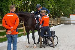 Den Dulk Nicole, NED, Wallace NOP<br /> EC Rotterdam 2019<br /> © Hippo Foto - Sharon Vandeput<br /> 21/08/19