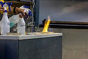 Chemical fire experiment