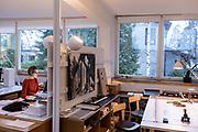 Helsinki, Alvar Aalto studio
