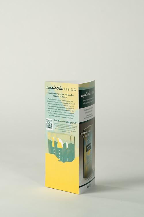 Appalachia Rising Book Display University Communications and Marketing
