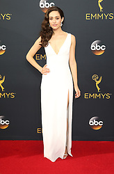 Emmy Rossum  bei der Verleihung der 68. Primetime Emmy Awards in Los Angeles / 180916<br /> <br /> *** 68th Primetime Emmy Awards in Los Angeles, California on September 18th, 2016***
