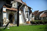 Neamt County, Romania Exterior of a farmhouse