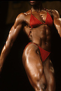 The Ms. Olympia contest..Photograph by Dennis Brack bb 27