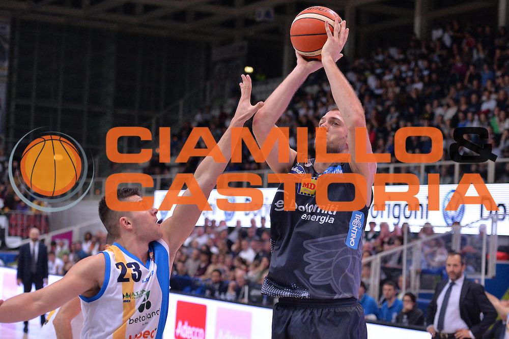 Filippo Baldi Rossi<br /> Dolomiti Energia Trentino - Betaland Capo D'Orlando<br /> Lega Basket Serie A 2016/2017<br /> Venezia 23/10/2016<br /> Foto Ciamillo-Castoria