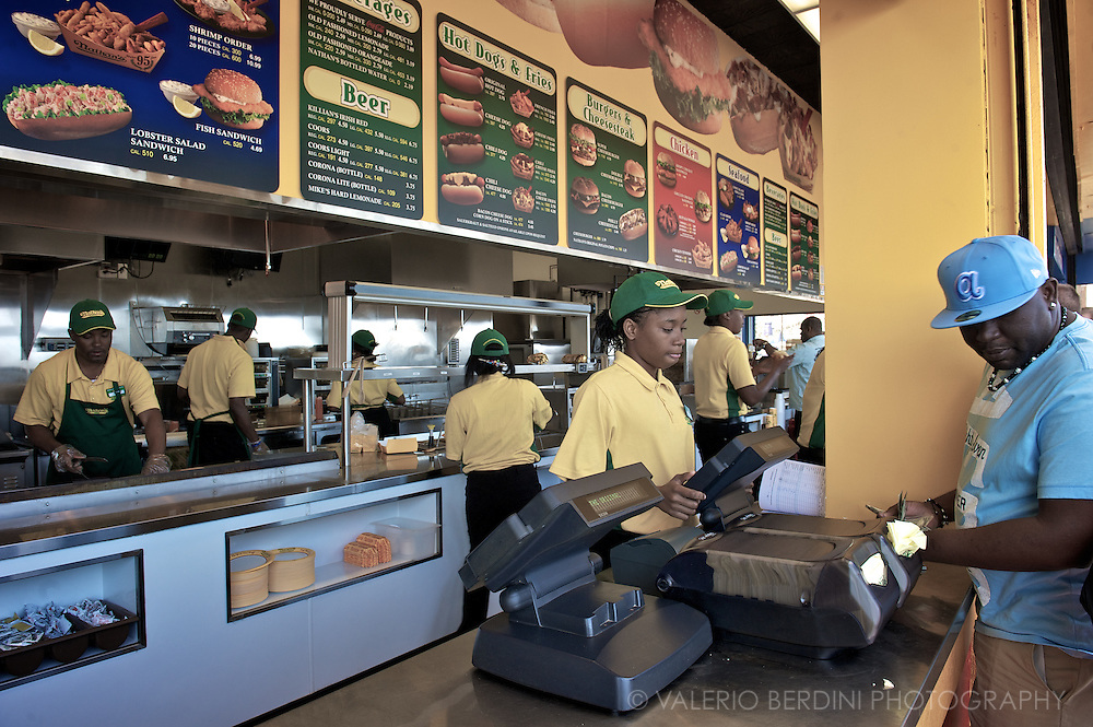 Nathan's famous hot dogs since 1916