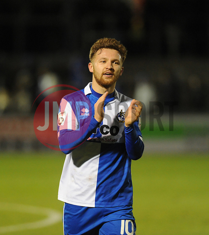 Bristol Rovers' Matty Taylor - Photo mandatory by-line: Neil Brookman/JMP - Mobile: 07966 386802 - 19/12/2014 - SPORT - football - Bristol - Memorial Stadium - Bristol Rovers v Gateshead  - Vanarama Conference