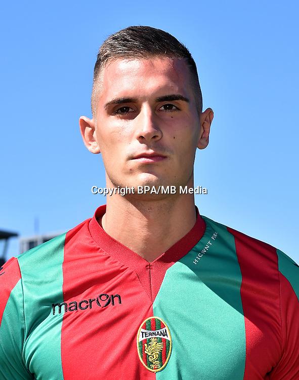 Italian League Serie B -2016-2017 / <br /> ( Ternana Calcio ) - <br /> Marko Dugandzic